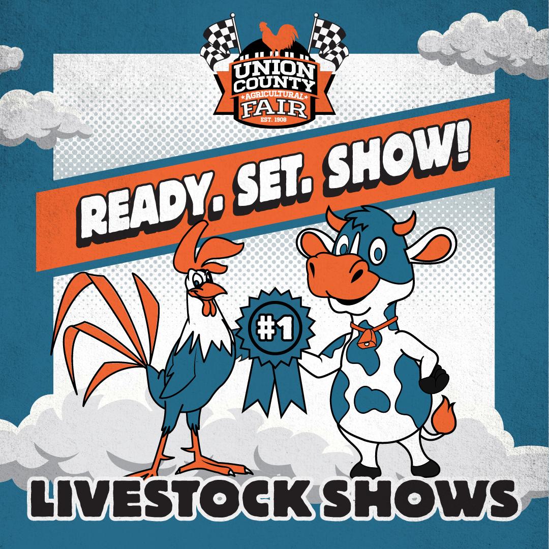 UNIO-21007CR-Ready Set Go Social Squares_Livestock Shows